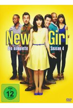 New Girl - Season 4  [3 DVDs] DVD-Cover