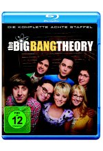 The Big Bang Theory - Staffel 8  [2 BRs] Blu-ray-Cover