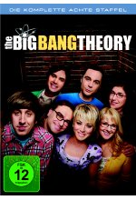 The Big Bang Theory - Staffel 8  [3 DVDs] DVD-Cover