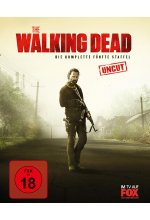 The Walking Dead - Die komplette fünfte Staffel - Uncut  [6 BRs] Blu-ray-Cover