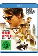 Mission: Impossible 5 - Rogue Nation Blu-ray-Cover