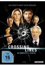 Crossing Lines - Staffel 3  [4 DVDs] DVD-Cover