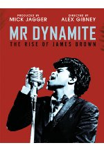 Mr. Dynamite - The Rise of James Brwon Blu-ray-Cover