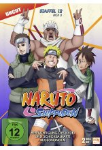 Naruto Shippuden - Staffel 12 - Box 2 - Uncut  [2 DVDs] DVD-Cover