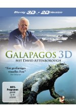 Galapagos mit David Attenborough  (inkl. 2D-Version) Blu-ray 3D-Cover