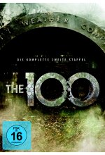 The 100 - Die komplette 2. Staffel  [4 DVDs] DVD-Cover