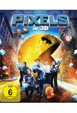 Pixels Blu-ray 3D-Cover