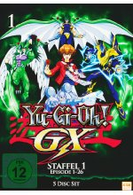 Yu-Gi-Oh! - GX - Staffel 1/Episode 01-26  [5 DVDs] DVD-Cover