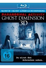 Paranormal Activity - The Ghost Dimension - Extended Cut  (+ Blu-ray) Blu-ray 3D-Cover