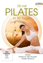 Fit mit Pilates in 30 Tagen  [3 DVDs] DVD-Cover