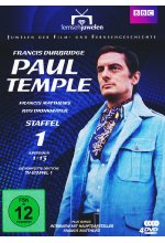 Francis Durbridge - Paul Temple - Box 1  [4 DVDs] DVD-Cover