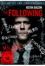 The Following - Staffel 3  [4 DVDs] DVD-Cover