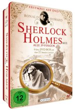 Sherlock Holmes - Deluxe Metallbox Edition  [6 DVDs] DVD-Cover
