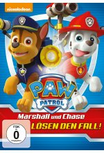 Paw Patrol - Marshall und Chase lösen den Fall <br> DVD-Cover