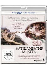 Vatikanische Museen  (inkl. 2D-Version)<br> Blu-ray 3D-Cover