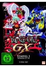 Yu-Gi-Oh! - GX - Staffel 1/Episode 27-52  [5 DVDs] DVD-Cover