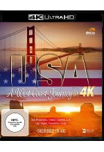 USA - A West Coast Journey  (4K Ultra HD) Cover