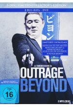 Outrage Beyond  [LCE] (+ DVD) (+ Bonus BR) - Mediabook Blu-ray-Cover