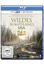 Wildes Sumpfland USA  (inkl. 2D-Version) Blu-ray 3D-Cover