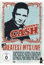Johnny Cash - Greatest Hits Live DVD-Cover
