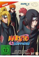 Naruto Shippuden - Staffel 14 - Box 1  [3 DVDs] DVD-Cover