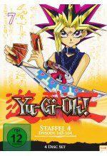 Yu-Gi-Oh! 7 - Staffel 4.1/Episode 145-164  [4 DVDs] DVD-Cover