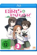 Girls & Panzer Vol. 3 - Episoden 09-12 Blu-ray-Cover