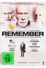 Remember - Vergiss nicht, dich zu erinnern DVD-Cover