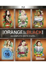 Orange is the New Black - 3. Staffel  [4 BRs] Blu-ray-Cover