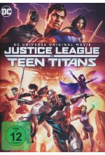 Justice League vs. Teen Titans DVD-Cover