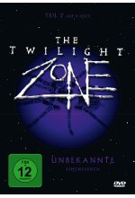 The Twilight Zone - Unbekannte Dimensionen Teil 2  [4 DVDs] DVD-Cover