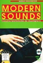Markus Segschneider - Modern Sounds/Innovative Spieltechniken der Akustikgitarre  (+ Noten-/Tabulaturenbuch) DVD-Cover