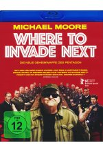 Where to invade next Blu-ray-Cover