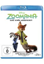 Zoomania Blu-ray-Cover