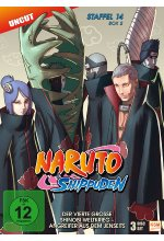Naruto Shippuden - Staffel 14 - Box 2  [3 DVDs] DVD-Cover