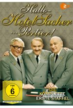 Hallo - Hotel Sacher ... Portier! - Staffel 1  [3 DVDs] DVD-Cover