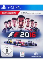 F1 2016 (Limited Edition) Cover