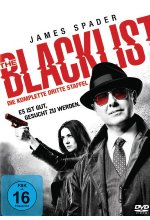 The Blacklist - Season 3  [6 DVDs] DVD-Cover