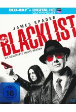 The Blacklist - Season 3  [6 BRs] Blu-ray-Cover