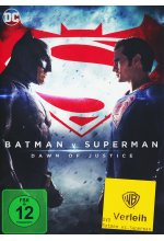Batman v Superman: Dawn of Justice DVD-Cover