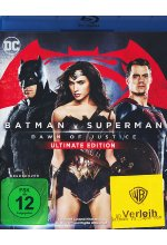 Batman v Superman: Dawn of Justice (+ Blu-ray 2D Kinofassung) [UE] Blu-ray-Cover