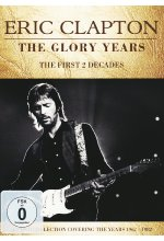 Eric Clapton - The Glory Years  [2 DVDs] DVD-Cover