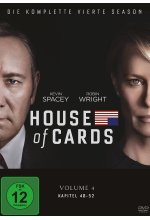 House of Cards - Season 4  [4 DVDs] DVD-Cover