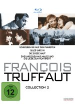 Francois Truffaut - Collection 2  [4 BRs] Blu-ray-Cover