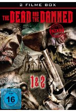 The Dead and the Damned 1+2 - Uncut DVD-Cover