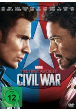 The First Avenger: Civil War DVD-Cover