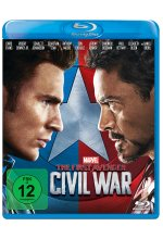The First Avenger: Civil War Blu-ray-Cover