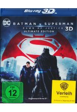 Batman v Superman: Dawn of Justice Blu-ray 3D-Cover