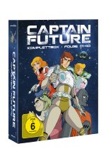Captain Future - Komplettbox  [4 BRs] Blu-ray-Cover