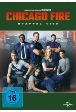 Chicago Fire - Staffel 4  [6 DVDs] DVD-Cover